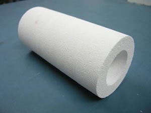 High temperature fibre free thermal heat insulation